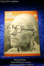 Der Spiegel 15/52 9.4.1952 zeichnete Paris; Vater d. Strahlenstadt Le Corbusier