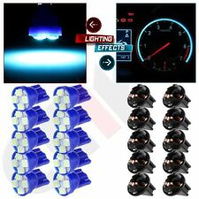 "10pc GM 1/2""Hole Twist Instrument Panel Dash Light Bulb Socket 194 168 T10 Wedge"