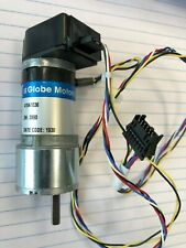 Globe Motors 415a1036 Gearhead Motor With Heds 5505 A04 1922 A Encoder 24v Dc New