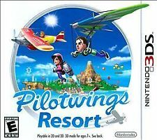 Pilotwings Resort Nintendo 3DS 2011 Take Flight to a New Dimension