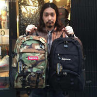 NEW SUPREME 15SS 38TH BACKPACK TONAL BLACK camouflage BAG
