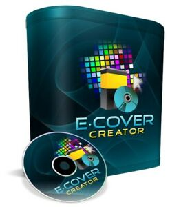 E-Book E-Cover Maker Software CD-Rom (Best of the Best-Easy as 1,2,3 or abc)