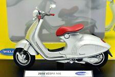 COLLEZIONE MODELLINI VESPA 946 MOTO ASTA SCALA 1:18 MODELLISMO WELLY MOTOR  BIKE