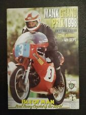 MOTORCYCLE RACING ISLE OF MAN MANX TT TOURIST TROPHY OFFICIAL RACE GUIDE 1998