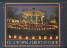 America Postcard - Christmas Eve in Old Town Albuquerque, New Mexico RR3001