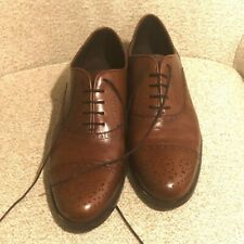Saks Fifth Avenue Mens' Derby Shoes NWT Size 10.5