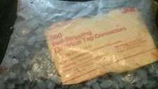 New listing 3M 560 Self-Stripping Electrical Tap Connectors, blue 14 or 16 awg