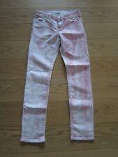 Kangaroos super Stretch Jeans Hose weiß rosa rot coloured Gr. 38 NEU