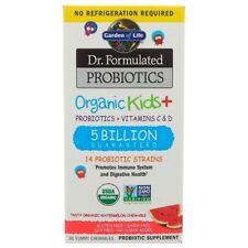 Garden of Life, Dr. Formulated Probiotics, Organic Kids +, 30 Yummy Chewables