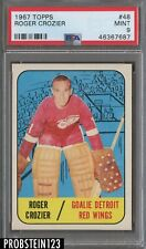 1967 Topps Hockey #48 Roger Crozier Red Wings PSA 9 MINT