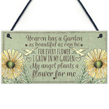 Memorial Garden Plaque SummerHouse Sign Garden Shed Friendship Mum Nan Gift
