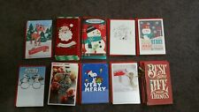 Lot of 44 new Hallmark Christmas cards with envelopes