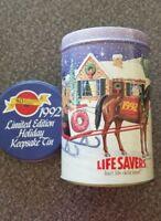 "Vintage, 1992 Limited Edition Holiday Keepsake Metal Tin, 3.5"" x 5.5"""