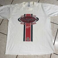Detroit Red Wings T Shirt Vintage 90s 1998 Stanley Cup Champions NHL Hockey XL