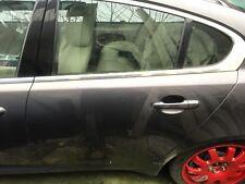 Jaguar XF Passengers Rear Door Complete
