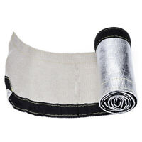 2meters Heat Shield Sleeve For Wiring, Fuel Lines Aluminum Foil Insulated Wire