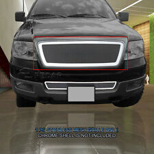 Main Upper Wire Mesh Grille Grill For 2004 2005 2006 2007 2008 Ford F-150