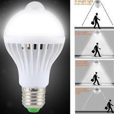 5W E27 LED Luci Infrarossi PIR Sensore Di Movimento Lampada Auto Lampadina