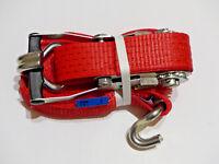 WISTRA WTR 5000 Druck-Ratschen-Zurrgurt 2-teilig mit Ratsche 8m Spanngurt Unimog