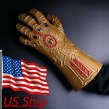 Avengers Infinity War Cosplay Gloves Thanos Infinity Gauntlet  Armor Latex Hands