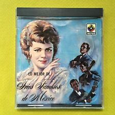 Lo Mejor de Trios Famosos de Mexico CD Boleros Various Artists MUSART 1987 MINT