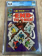 X-Men 46 CGC 5.5 Silver Age X-Men New Slab Juggernaut! Hot book!