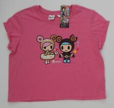 NEW ~ TOKIDOKI ~ WOMENS GIRLS CROPPED TEE Size S ~ LICENCED TSHIRT
