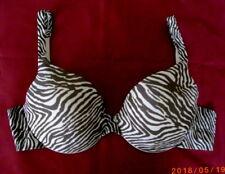 Size 36B Vanity Fair Illumination Style 75290 Underwire Bra ~ Zebra Print