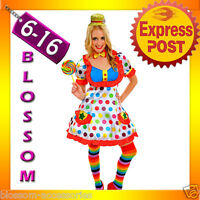 Adult Lift Me Up Kidnap Clown Costume Funny Halloween Fancy Dress Outfit