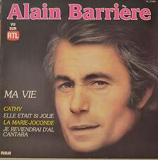 """Alain Barriere-ma vie-LP 12"""" (S 639)"""