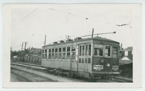 1930s Sandwich Windsor & Amherstburg Electric Railway #204 Streetcar Ontario ON