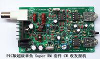 Assembled PIC 8W Super RM RockMite QRP CW Transceiver HAM Radio Shortwave