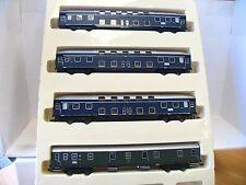 Heris H0 11049 Geburtstagsset 3 x Doppelstock + 1 x Postwagen DB OVP (TR792)
