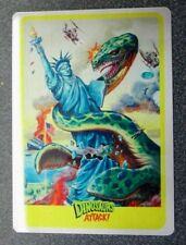 MARS ATTACKS OCCUPATION TOPPS** 2015 METAL CARD EXCLUSIVE  DINOSAURS ATTACK