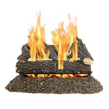 "Pleasant Hearth 30"" Arlington Ash Vented Gas Log Set 65,000 Btu's"