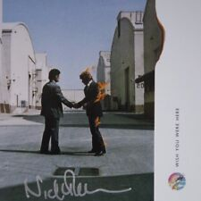 Wish You Were Here CD insert hand signed by Nick Mason of Pink Floyd and new CD