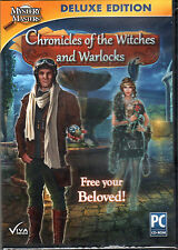 CHRONICLES OF THE WITCHES AND WARLOCKS Hidden Object PC Game Viva Media  NEW