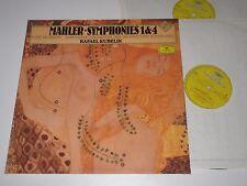 2 LP/MAHLER SYMPHONIES 1+4/KUBELIK/DG 415012-1
