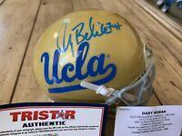 Gary Beban Autographed/Signed Mini Helmet TRISTAR UCLA Bruins