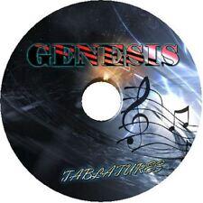 GENESIS BASS & GUITAR TAB CD TABLATURE SONG BOOK GREATEST HITS BEST OF MUSIC