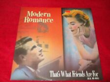 """MODERN ROMANCE ~ THAT'S WHAT FRIENDS ARE FOR 12""""  MINT / NEVER PLAYED / IMPORT"""