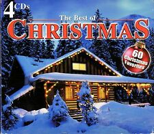 THE BEST OF CHRISTMAS: 60 HOLIDAY FAVORITES INSTRUMENTAL/VOCAL 4-CD BOX SET RARE