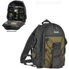 Camera Bag Case for Backpack Photo Lenses DSLR SLR EOS Waterproof Green - NEW