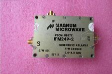 used MAGNUM IRM24P-2 3.6-4.2GHz SMA RF Microwave mixer