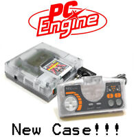 PC Engine Console 3rd Party Translucent Case Shell Transparent Clear