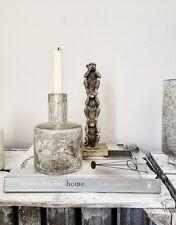 "PB Home Glas Vase Flasche ""Branca"" Boho Bohemian Ethno Gold Tine K House Doctor"