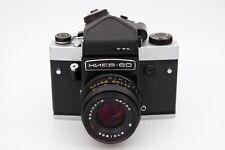Kiev 60 TTL medium format camera, 6x6  metered prism, 80mm f2.8 lens