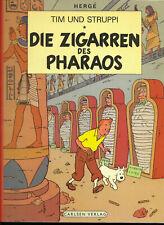 Tim und Struppi Die Zigarren des Pharaos - TOP Z1 CARLSEN COMIC-ALBUM 1974 Hergé