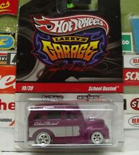 HOT WHEELS REAL RIDERS 1:64 LARRY'S GARAGE SCHOOL BUSTED 10/39, R3773