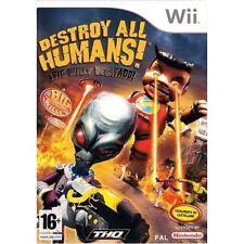 Destroy all humans! ¡Big Willy desatado! (Wii Nuevo)